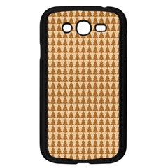 Pattern Gingerbread Brown Samsung Galaxy Grand DUOS I9082 Case (Black)