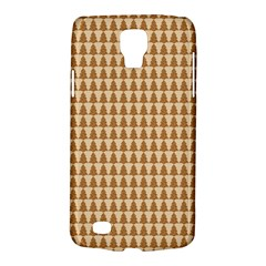 Pattern Gingerbread Brown Galaxy S4 Active