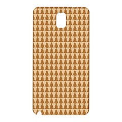 Pattern Gingerbread Brown Samsung Galaxy Note 3 N9005 Hardshell Back Case