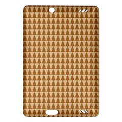 Pattern Gingerbread Brown Amazon Kindle Fire HD (2013) Hardshell Case