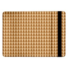 Pattern Gingerbread Brown Samsung Galaxy Tab Pro 12 2  Flip Case