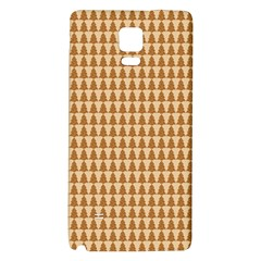 Pattern Gingerbread Brown Galaxy Note 4 Back Case