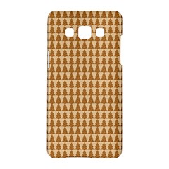 Pattern Gingerbread Brown Samsung Galaxy A5 Hardshell Case