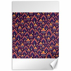 Abstract Background Floral Pattern Canvas 12  X 18