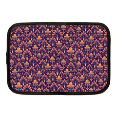 Abstract Background Floral Pattern Netbook Case (Medium)