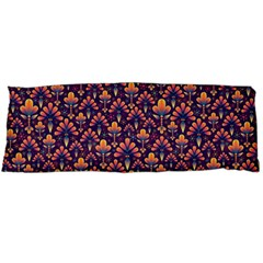 Abstract Background Floral Pattern Body Pillow Case (Dakimakura)