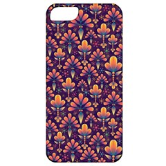 Abstract Background Floral Pattern Apple iPhone 5 Classic Hardshell Case