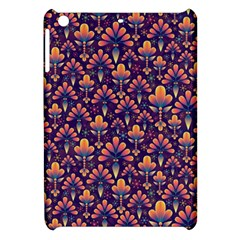 Abstract Background Floral Pattern Apple iPad Mini Hardshell Case