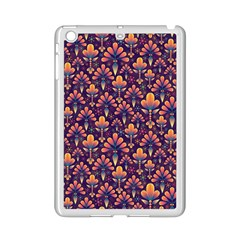Abstract Background Floral Pattern iPad Mini 2 Enamel Coated Cases