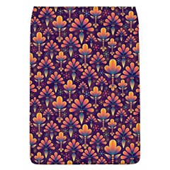 Abstract Background Floral Pattern Flap Covers (L)