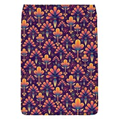 Abstract Background Floral Pattern Flap Covers (S)