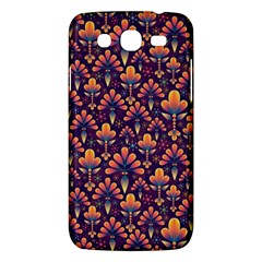 Abstract Background Floral Pattern Samsung Galaxy Mega 5.8 I9152 Hardshell Case