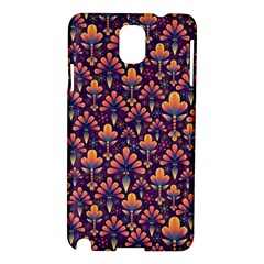 Abstract Background Floral Pattern Samsung Galaxy Note 3 N9005 Hardshell Case