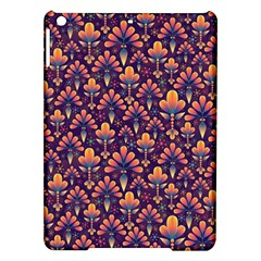 Abstract Background Floral Pattern iPad Air Hardshell Cases