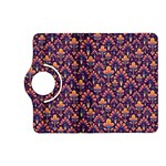 Abstract Background Floral Pattern Kindle Fire HD (2013) Flip 360 Case Front
