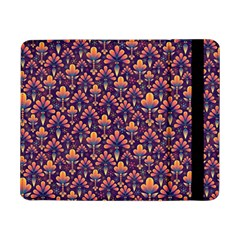 Abstract Background Floral Pattern Samsung Galaxy Tab Pro 8.4  Flip Case