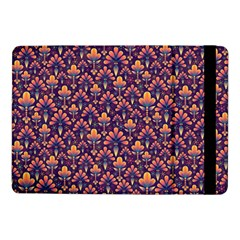 Abstract Background Floral Pattern Samsung Galaxy Tab Pro 10.1  Flip Case