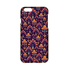 Abstract Background Floral Pattern Apple iPhone 6/6S Hardshell Case