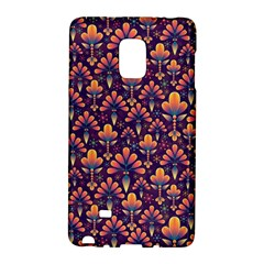 Abstract Background Floral Pattern Galaxy Note Edge