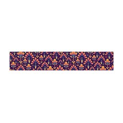 Abstract Background Floral Pattern Flano Scarf (mini)