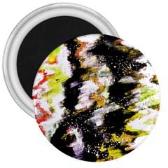 Canvas Acrylic Digital Design 3  Magnets