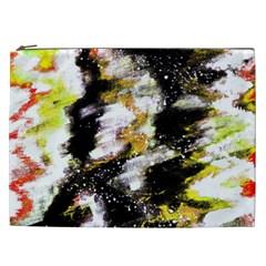 Canvas Acrylic Digital Design Cosmetic Bag (XXL)