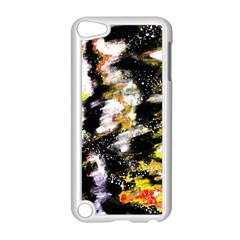 Canvas Acrylic Digital Design Apple iPod Touch 5 Case (White)