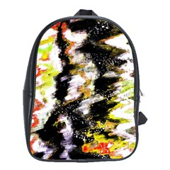 Canvas Acrylic Digital Design School Bags (XL)
