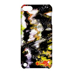 Canvas Acrylic Digital Design Apple iPod Touch 5 Hardshell Case with Stand