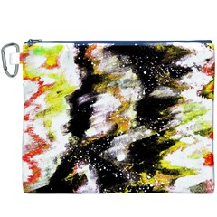 Canvas Acrylic Digital Design Canvas Cosmetic Bag (XXXL)
