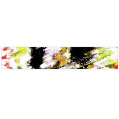 Canvas Acrylic Digital Design Flano Scarf (Large)