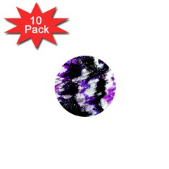 Canvas Acrylic Digital Design 1  Mini Magnet (10 Pack)