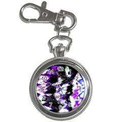 Canvas Acrylic Digital Design Key Chain Watches