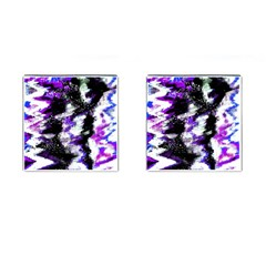 Canvas Acrylic Digital Design Cufflinks (Square)