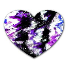 Canvas Acrylic Digital Design Heart Mousepads