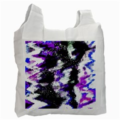 Canvas Acrylic Digital Design Recycle Bag (One Side)