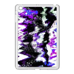 Canvas Acrylic Digital Design Apple iPad Mini Case (White)