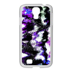 Canvas Acrylic Digital Design Samsung Galaxy S4 I9500/ I9505 Case (white)