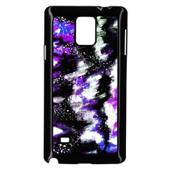 Canvas Acrylic Digital Design Samsung Galaxy Note 4 Case (Black)