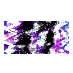 Canvas Acrylic Digital Design Satin Wrap