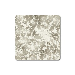 Wall Rock Pattern Structure Dirty Square Magnet