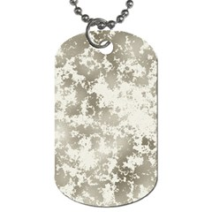 Wall Rock Pattern Structure Dirty Dog Tag (One Side)