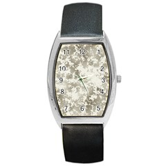 Wall Rock Pattern Structure Dirty Barrel Style Metal Watch