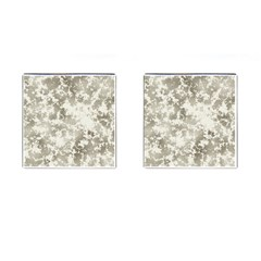 Wall Rock Pattern Structure Dirty Cufflinks (square)