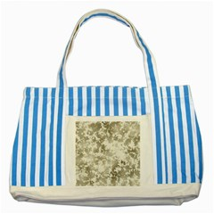 Wall Rock Pattern Structure Dirty Striped Blue Tote Bag