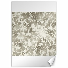 Wall Rock Pattern Structure Dirty Canvas 12  X 18