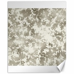Wall Rock Pattern Structure Dirty Canvas 16  x 20