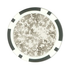 Wall Rock Pattern Structure Dirty Poker Chip Card Guard
