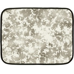 Wall Rock Pattern Structure Dirty Fleece Blanket (mini)
