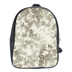 Wall Rock Pattern Structure Dirty School Bags(Large)